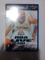 PS2 game NBA Live 2004